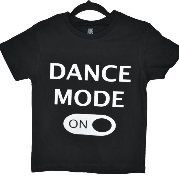 dance mode on custom t-shirt sold by star performance co.