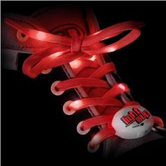 Light Em Up LED Laces 45inch Red sold by Star Performance Co.