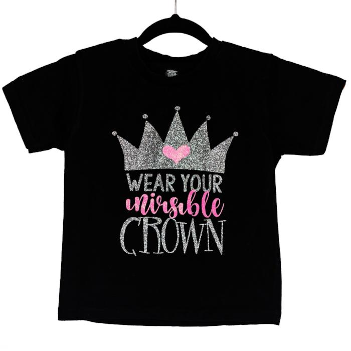 Sugar&Spice T-shirt Wear Your Invisible Crown sold by star performance co.