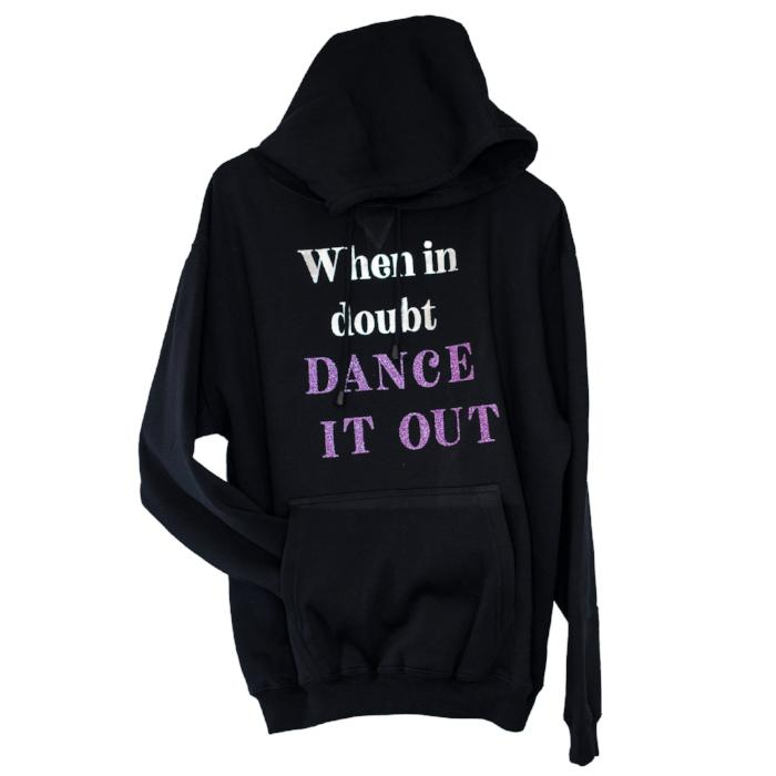 when in doubt dance it out jumper sold by star performance co