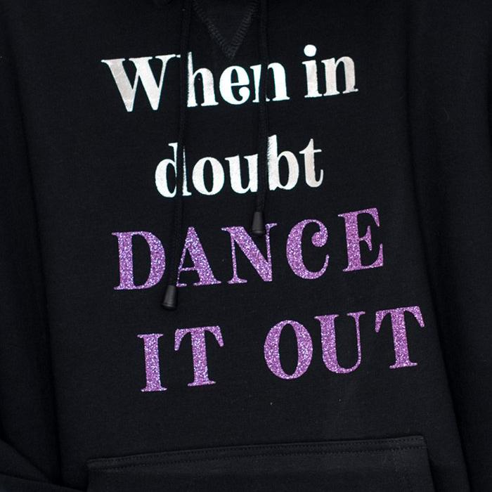 Dancediva T-shirt When In Doubt DANCE IT OUT