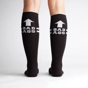 sock it to me bad ass black socks sold by Star Performance Co.
