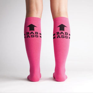 Sock It To Me Knee High Socks BadAss Pink sold by Star Performance Co.