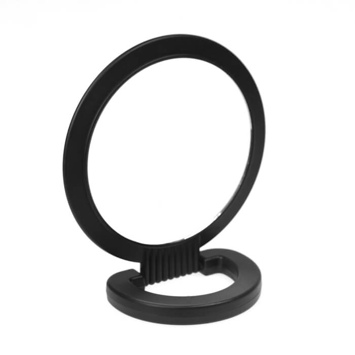 Double-Sided Beauty Mirror Black