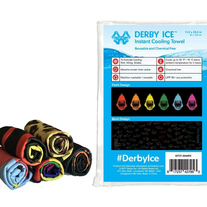 DERBY ICE Towel Shark sold by star performance co.