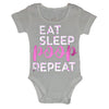Baby Bodysuit Eat Sleep Poop Repeat