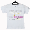 Flippingymnastics T-shirt Forget The Glass Slippers This Princess Wears Grips