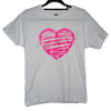 Flippingymnastics T-shirt love heart gymnastics
