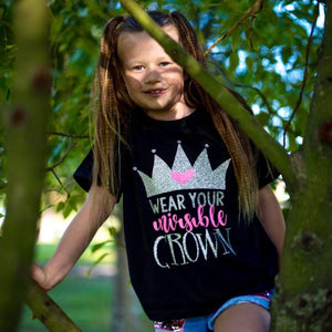 wear your invisible crown custom t-shirt sold by star performance co.