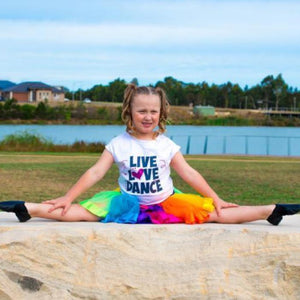 live love dance custom t-shirt sold by star performance co.