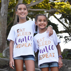 Dancediva T-shirt Eat Sleep Dance Repeat