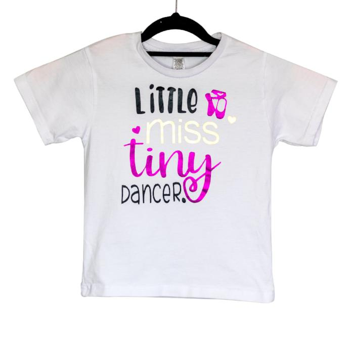 Dancediva T-shirt Little Miss Tiny Dancer sold by Star Performance Co.
