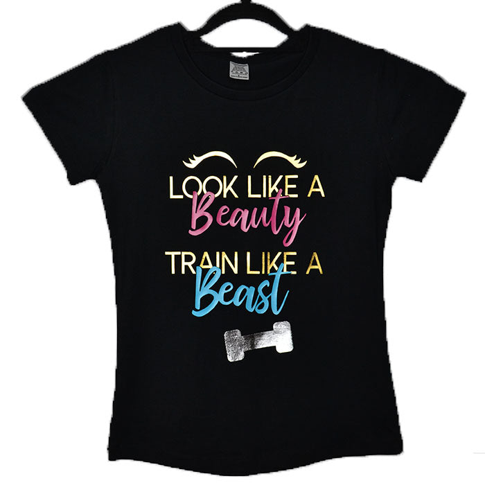 look like a beauty train like a beast made by star performance co..