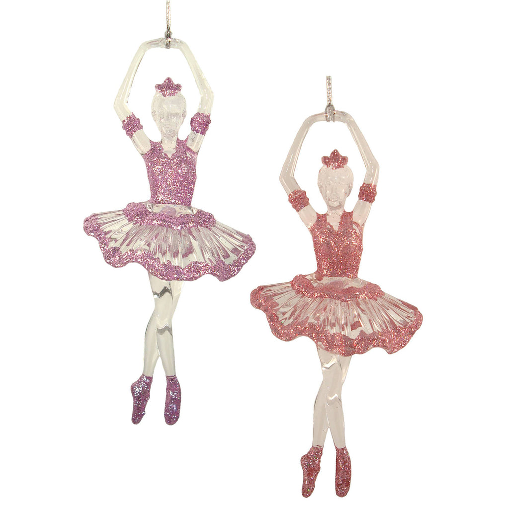 Hanging Acrylic Ballerina with spinner