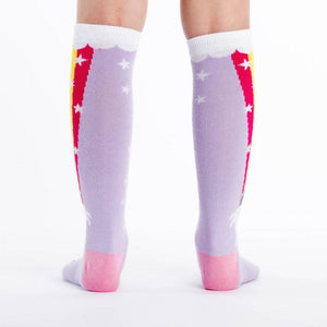 Sock It To Me Knee High Socks Rainbow Blast sold by Star Performance Co.