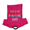PINK THIS IS MY HANDSTAND SHIRT SOLD BY STAR PERFORMANCE CO.