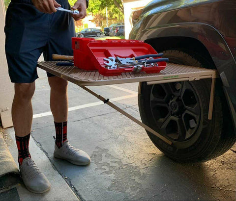 Large Steel Tire Table