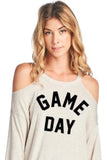 "Oatmeal Cookie ~ ""Game Day"" Top"