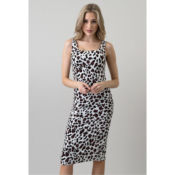 She's A Wild One Animal Print Dress - Sugar Honey Doll Boutique