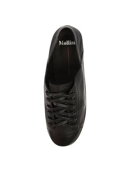 Mollini Oskher // Black Leather