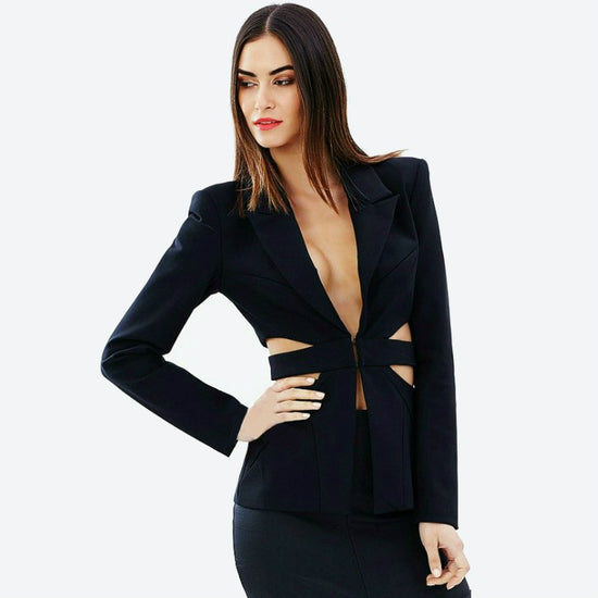 'Selma' Cut Out Bandage Suit