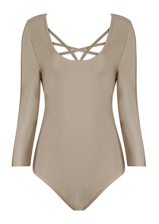 'Sweet Dream' Khaki Bodysuit