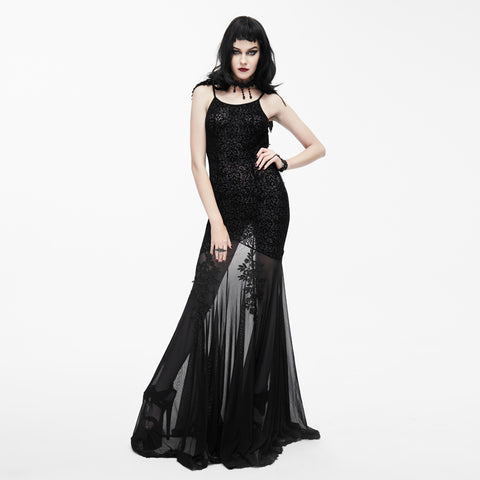 Black Melancholy Dress by Eva Lady