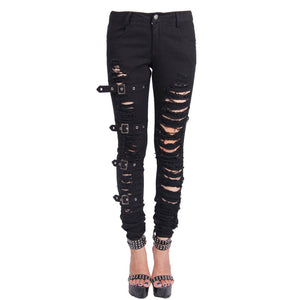 Rogue Ripped Pants by Devil Fashion