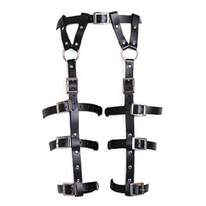 Faux Leather Leg Harness Belt