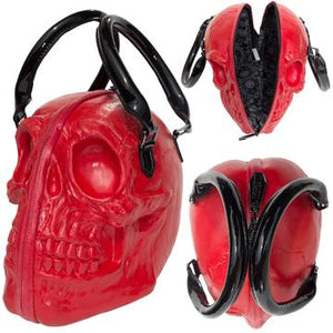 Skull Collection Red Bag by Kreepsville 666