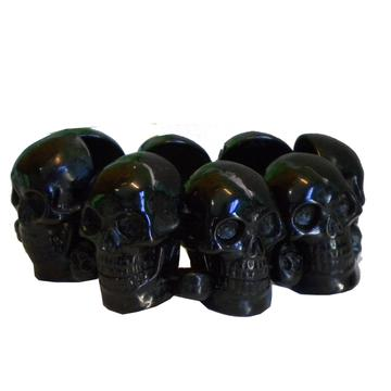 Black Skull Collection Bracelet by Kreepsville 666