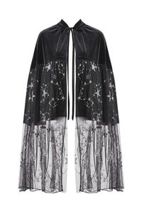 Stargazer 2-in-1 Cape Skirt by Dark In Love