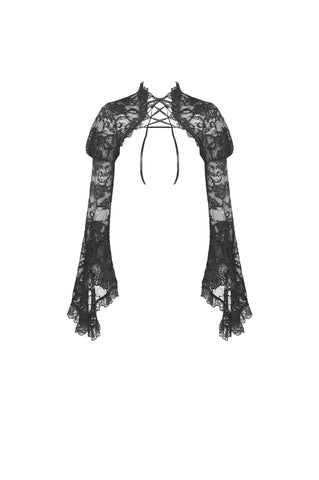 Deadly Nightshade Lace Bolero by Dark In Love