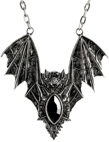 Gothic Bat Necklace by Restyle