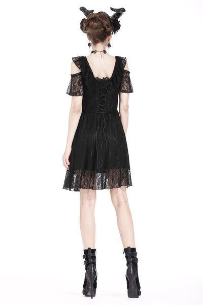 Gothic Lace Summer Dress by Dark In Love