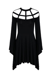 Cage Neck Dress by Dark In Love