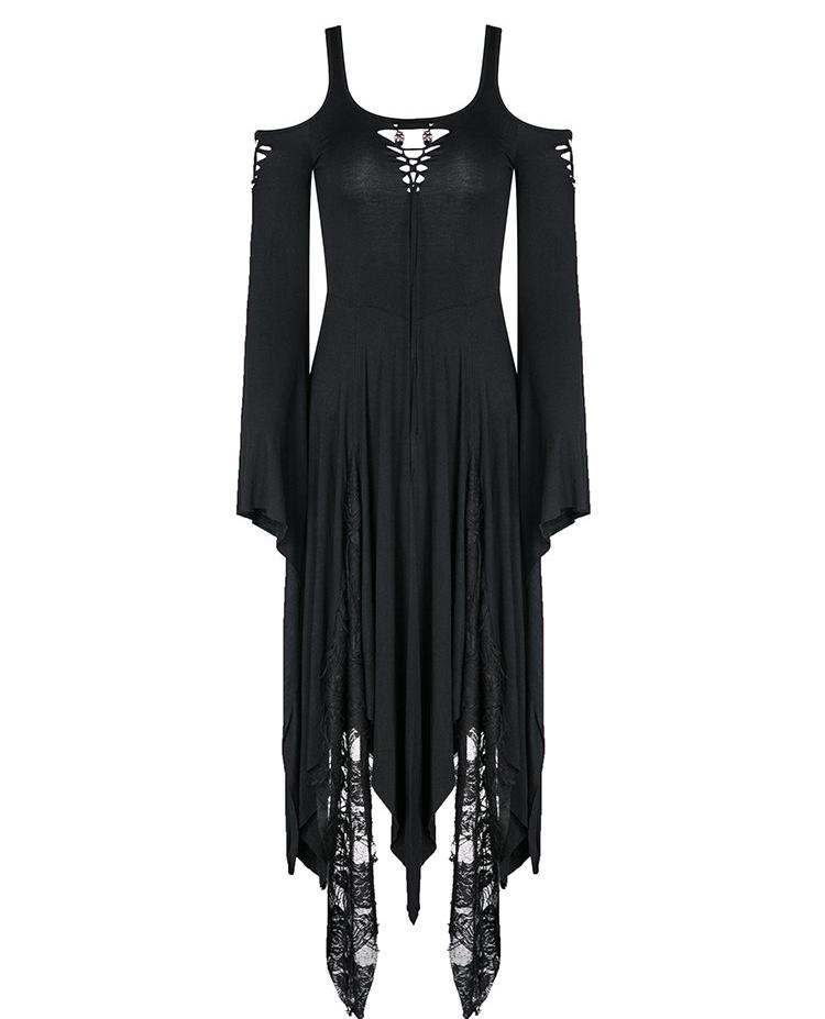 Gothic Irregular Hem Dress by Dark in Love