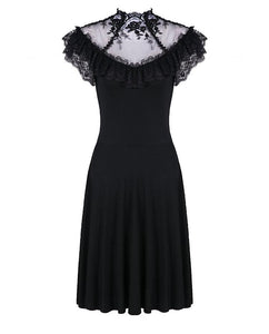 Gothic Rose Lace Dress by Dark In Love