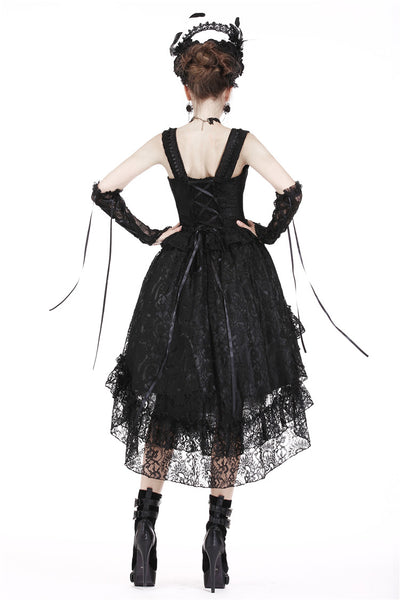 Gothic Lolita High Low Dress by Dark In Love