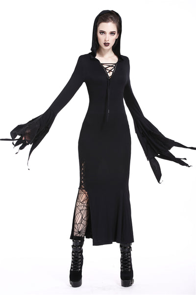 Gothic Dream Hooded Dress by Dark In Love