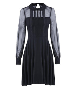Gothic Heidi Collar Dress by Dark In Love