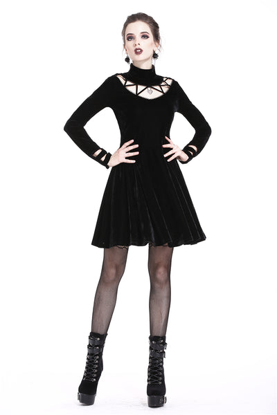 Dark In Love Heart Lock-It Dress