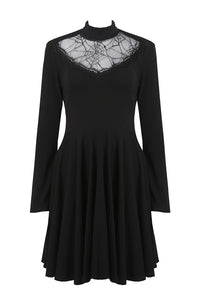 Dark In Love Spiderweb Dress