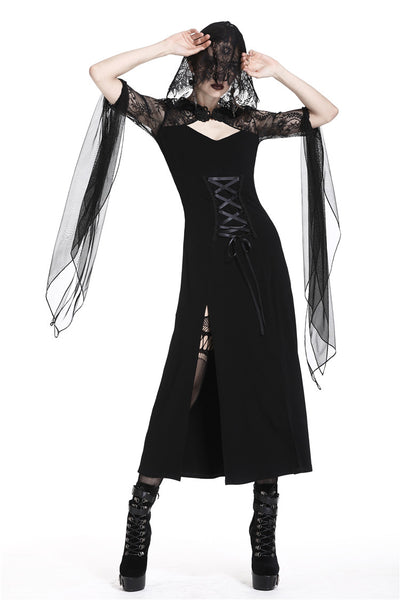 Dark In Love Little Black Riding Hood Dress