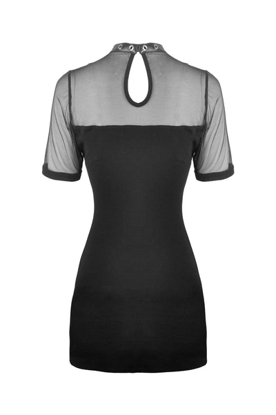 Punk Mesh Dress by Dark In Love