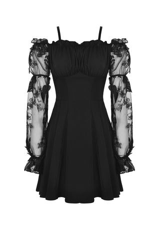 Dark Pixie Off-Shoulder Dress by Dark In Love