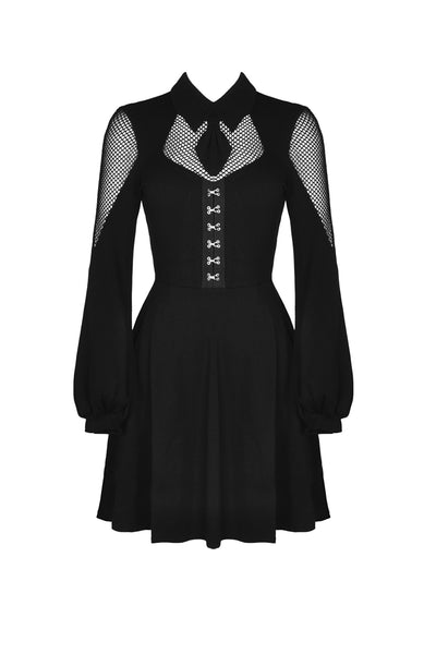 Grace Mesh Panel Dress by Dark In Love