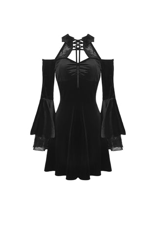 After Midnight Velvet Dress by Dark In Love