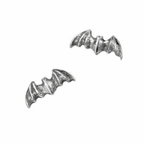 Bat Stud Earrings by Alchemy Gothic