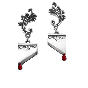 Marie Antoinette Earrings by Alchemy Gothic